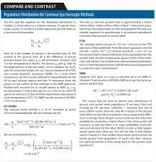 oxford presents instrumental analysis compare and contrast compare and contrast 1