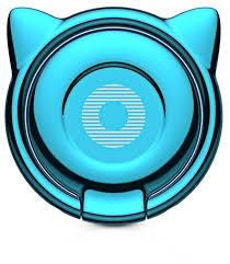 Купить Подставка <b>Baseus</b> Cat Ear <b>Ring</b> Bracket голубой по низкой ...