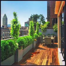 Small Picture NYC Rooftop Terrace Roof Garden Deck Outdoor Dining Container