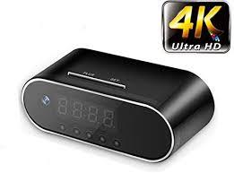 4K / 1080P Remote Control Mini Alarm Clock P2P ... - Amazon.com
