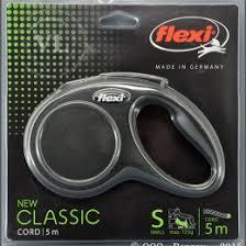 Поводок- <b>рулетка FLEXI NEW Classic</b> трос. S (до 12 кг), 5 м ...
