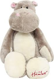 Hamleys QUIRKY HIPPO SOFT TOY - 20 cm(Multicolor) - buy at the ...