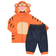 Комплект для мальчика Disney <b>Baby</b> Тигр: толстовка, штанишки ...