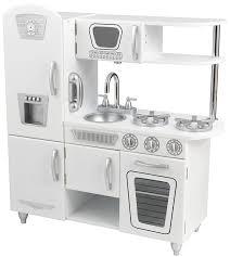 kidkraft bubblegum vintage kitchen refrigerator
