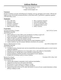 astonishing objective of resume sample brefash warehouse job of gallery of common resume objectives