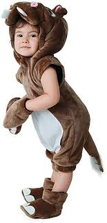 Miccostumes Kids Hippo Halloween Cosplay Animal <b>Mascot Costume</b>
