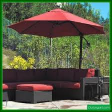 awesome offset patio umbrella