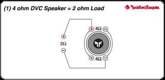 wiring 1 dual 4 ohm vc sub to 2 channel amp ecoustics com upload