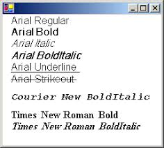 How to: Create a <b>Private</b> Font <b>Collection</b> - Windows Forms ...