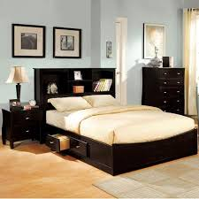 buy furniture of america elisandre espresso 3 piece bookcase style bedroom set cal king in cheap price on alibabacom alibaba furniture