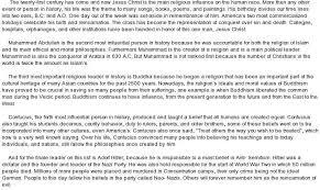 influential person essay wwwgxartorg  influential people essays and papers helpmeinfluential person essay libertyville high school
