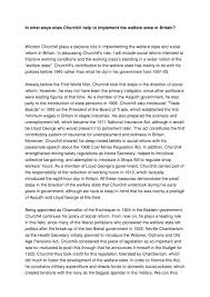 college essay sample Example essay Custom essay the lodges of colorado springs division churchill and the welfare state