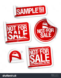 sample not stickers products stock vector  sample not for stickers for products