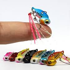 New Arrival <b>Metal Mini VIB With</b> Spoon Fishing Lure 3g 6g Winter ...