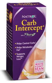 <b>Carb Intercept</b> with <b>Phase 2</b>+ Natrol (60 кап) - Жиросжигатели и ...
