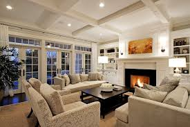 recessed lights small living room traditional living room decor with built in bookshelves recessed lights ideas built in living room furniture