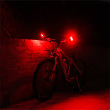 <b>LED Bicycle Turn</b> Signal Light USB Rechargeable For 22mm--25mm ...