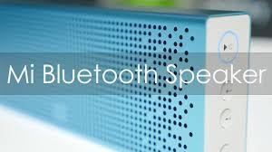 <b>Mi Bluetooth Speaker</b> Review Quality on a Budget - YouTube