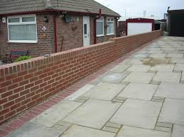 bespoke brick garden wall bespoke brickwork garage office