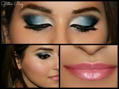 makeup for black dress and brown eyes photo 1 the true blue hues in this smokey eye really pops out the blues in the barbara