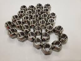1/2-20 Solid <b>304 Stainless Steel</b> Lug Nuts For Trailer Wheel Twelve 12