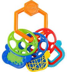 <b>Прорезыватель Oball Разноцветные ключики</b>, артикул: 81523 ...