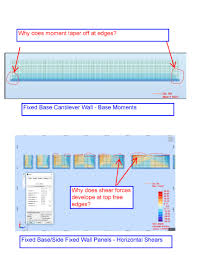 bending and shear force maps on wall panels autodesk community
