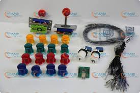 <b>Arcade parts Bundles</b> kit With <b>Joystick</b>,Pushbutton,Microswitch,2 ...