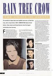 <b>Rain Tree Crow</b> (Sound on Sound, June 1991) - David Sylvian ...