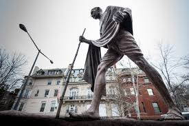 Memorials to Gandhi, Einstein share a surprising common bond ...