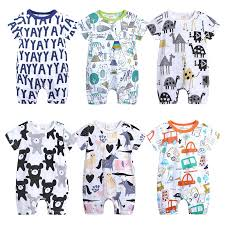 French Bulldog Pilot Baby Rompers <b>One Piece</b> Jumpsuits <b>Summer</b> ...