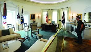 previous bush library oval office