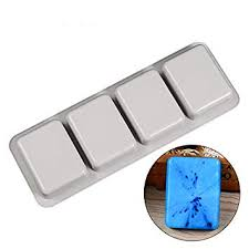 Nicole Silicone Molds for Soap Making Tools 4 Cavity ... - Amazon.com