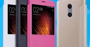 NILLKIN Sparkle Smart Flip Cover Case For Xiaomi Redmi Pro Note ...