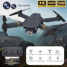 F89 HD 4K <b>Dual Camera</b> Drone WIFI FPV <b>Foldable</b> Drones With ...