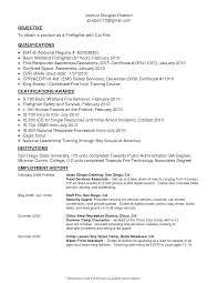 firefighter resume example firefighter resume sample writing firefighter resume builder experienced firefighter resume