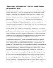 econ structured essay plan   linkbacktoactualq  pages structured economics essaydocx