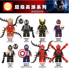 <b>Legoing Marvel Super Heroes</b> Venom Wolverine Deadpool Iron ...