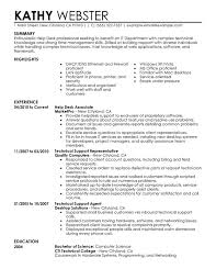 Unforgettable Help Desk Resume Examples to Stand Out   MyPerfectResume Help Desk Resume Sample