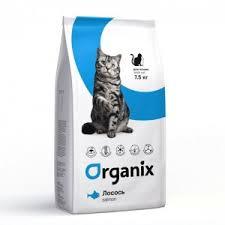 P <b>Organix Adult Cat</b> Fresh Salmon (Полнорационный ...