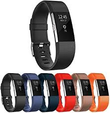 StrapsCo <b>Silicone Watch Band Strap for</b> Fitbit Charge 2: Amazon.ca ...