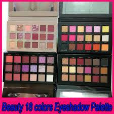 2018 Beauty Brand Makeup Eyeshadow <b>18 Colors</b> Eyeshadow ...