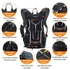 ANMEILU 18L Climbing <b>Rucksack</b> Cycling <b>Backpack</b> Men Women ...