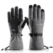 Women Ski Gloves <b>Winter Waterproof Touch</b> Screen Windproof ...
