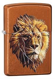 <b>Зажигалка Zippo Polygonal Lion</b> с покрытием Toffee™, 29865 на ...