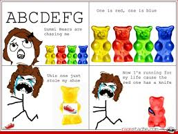 Gummy Bear Hunt - Ragestache via Relatably.com