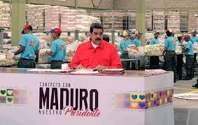 Resultado de imagen para Maduro celebra primer aniversario de los CLAP