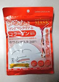 <b>Japan Gals Pure</b> essence Moisturizing face mask made in japan f/s