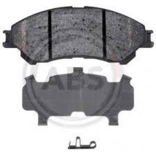 Комплект <b>тормозных колодок</b>, <b>дисковый</b> тормоз <b>A.B.S.</b> 35031