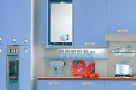 Кухни с газовой колонкой. Фото